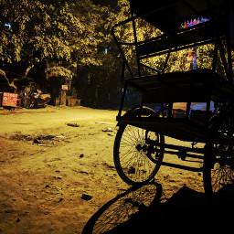 freetoedit streetphotography eveningphotography nightphotography rikshaw
