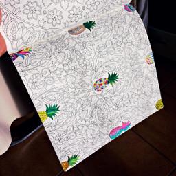 ananas colorize coloringbookforme