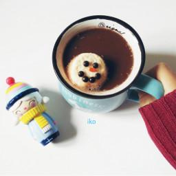 hotchocolate snowman winter