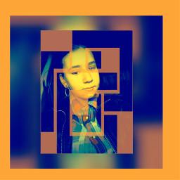 blur orange
