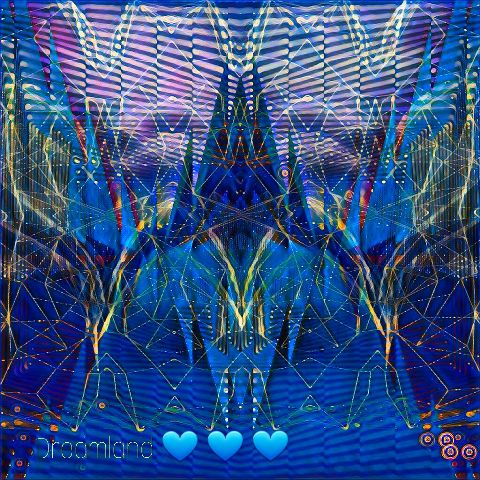 dreamland draw magiceffect mirroreffect colorful