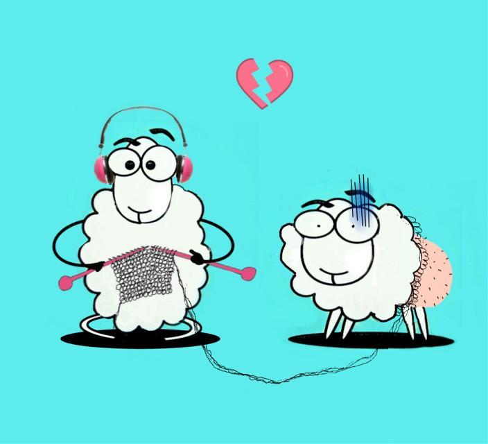 #FreeToEdit #sheep #cute #mydrawingedit
