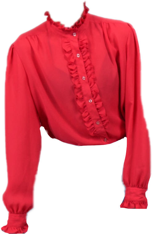 #FreeToEdit #ftestickers #blouse #top #red #ruffle #ruffles #redshirt #shirt #longsleeve #buttonup #fashion #style #ootd #fave #stickers #outfit