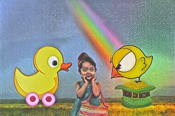 freetoedit edit remix duck bird