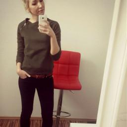 me makeupartist office selfietime