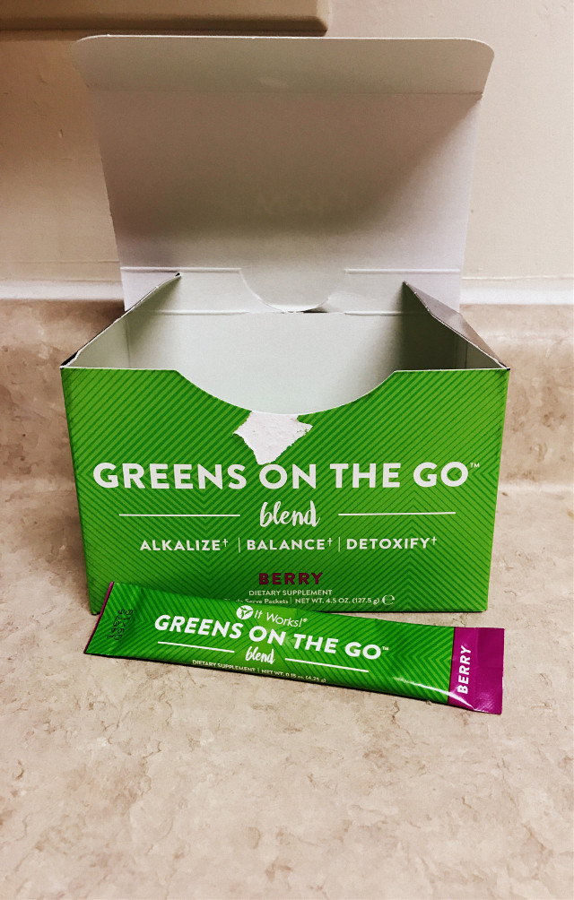 #itworksgreens