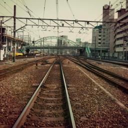 railway twilighteffect freetoedit