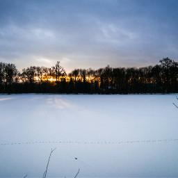 onthelake sunsetsky