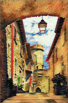 picsarteffects photography colors castle freetoedit