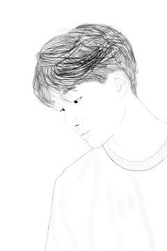 freetoedit drawing people kpop exo