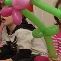 dpcballoon kidsparty balloons flowers happy