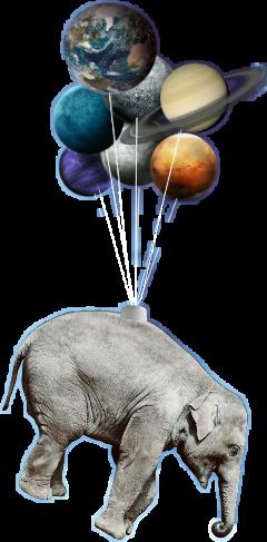 elephant planets freetoedit
