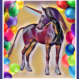 freetoedit unicorn dailyremixitchallenge balloons unicornremix