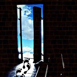 doubleexplosure doors allpicsart myart surrealism freetoedit